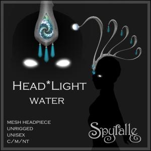 Spyralle Head_Light Water